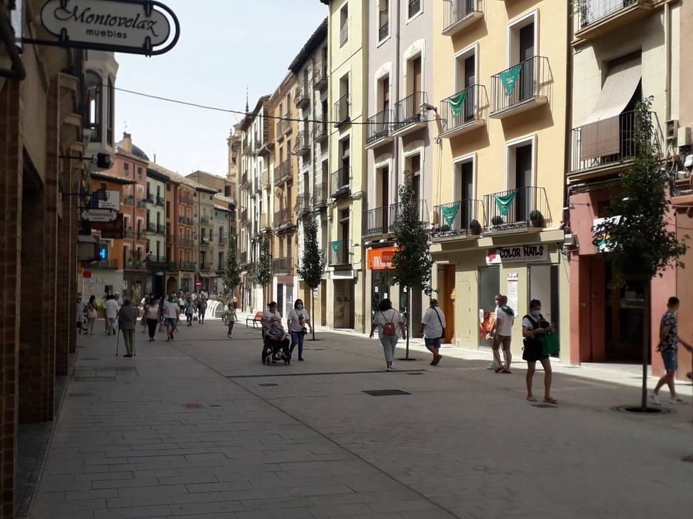 Huesca vive hoy el día grande de sus fiestas sin celebraciones