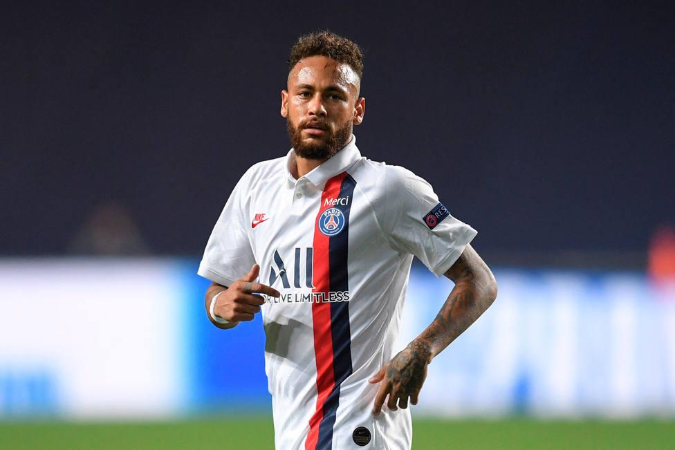 Neymar, estrella del partido ante el Atalanta (EFE)