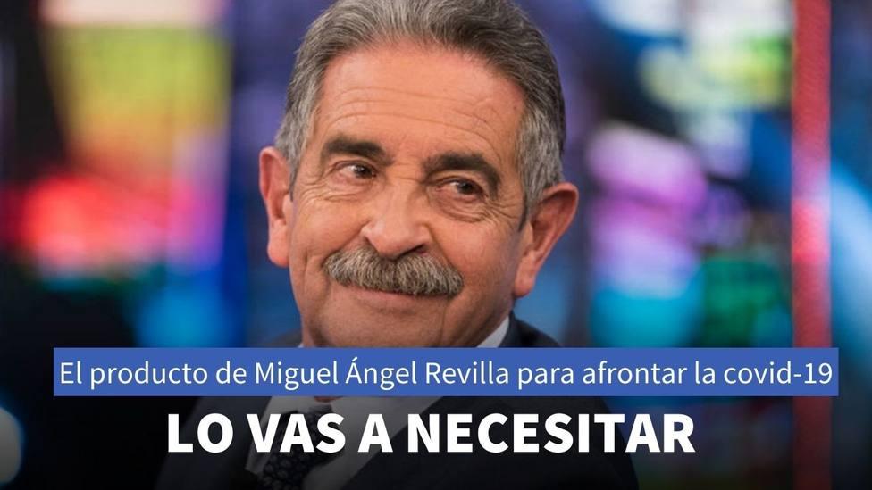 Miguel Ángel Revilla tiene su propio gel hidroalcohólico y las redes reaccionan de esta manera
