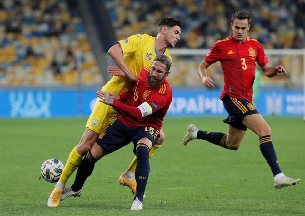 Imagen del Ucrania - España