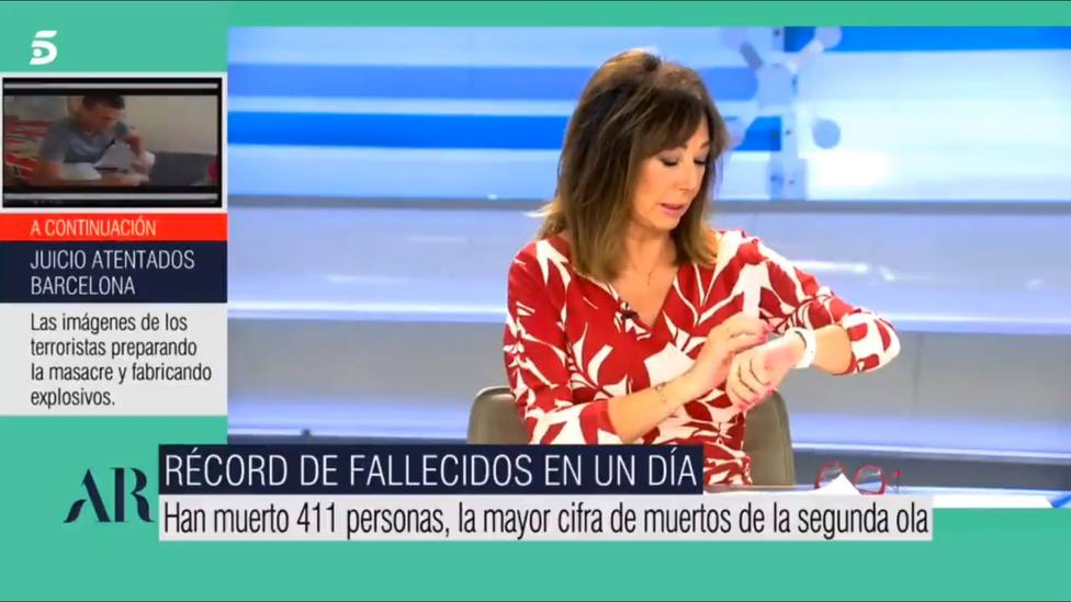 La llamada a Ana Rosa en directo cuando hablaba de la vacuna de Pfizer: El Ministerio de la Verdad