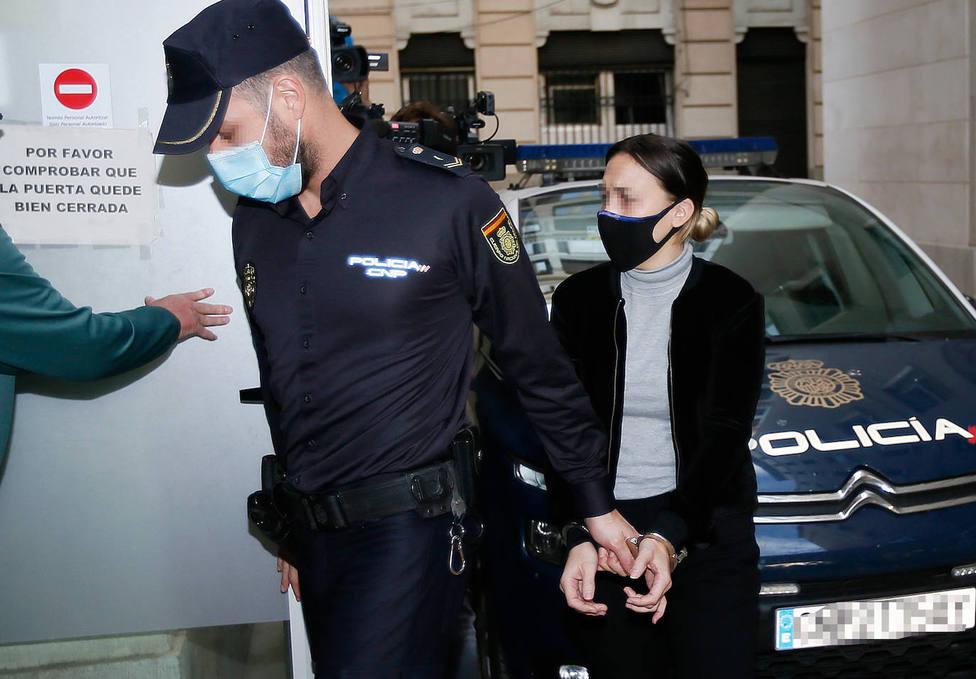 Alejandra, la acusada de asesinar al menor de Elda (EFE)