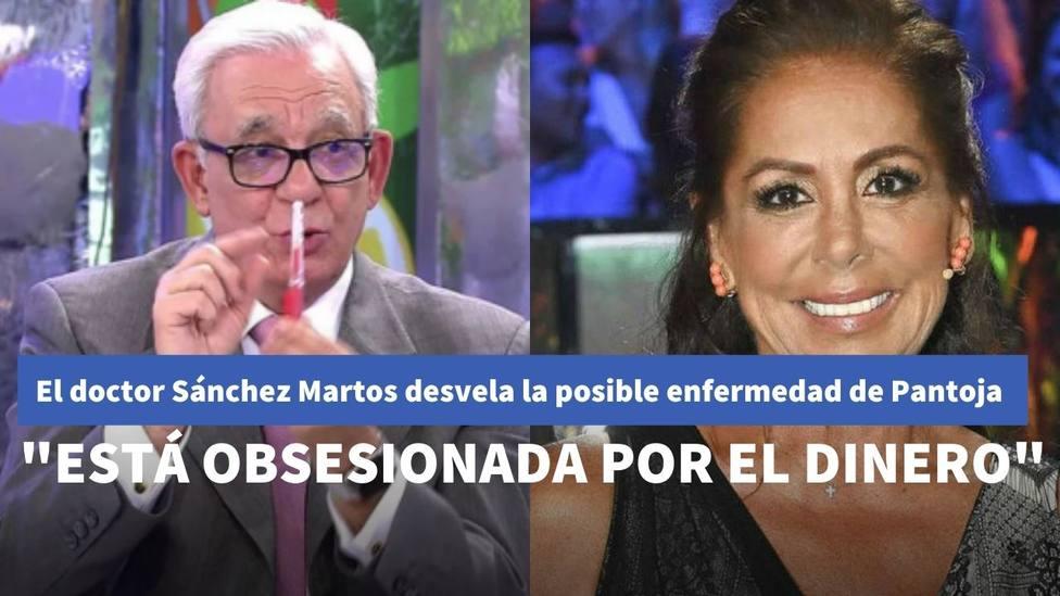 El doctor Sánchez Marcos desvela en 'Sálvame' la posible enfermedad que puede padecer Isabel Pantoja