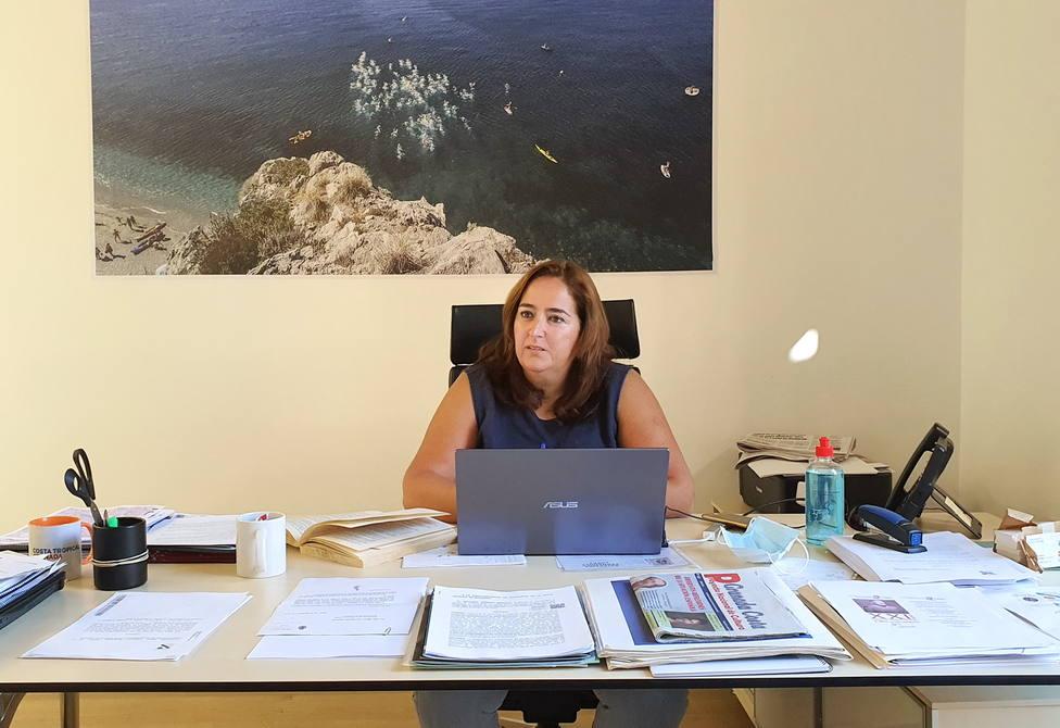 María José Sánchez, presidenta Mancomunidad Costa Tropical