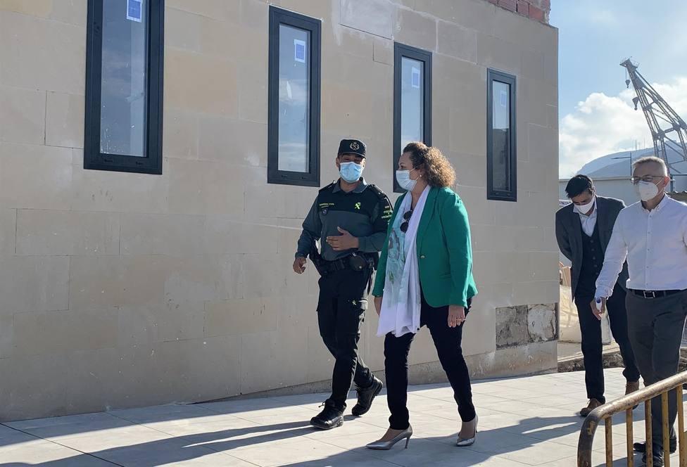 El Puerto de Cartagena remodela el edificio de la Guardia Civil en el muelle de Santa Lucía