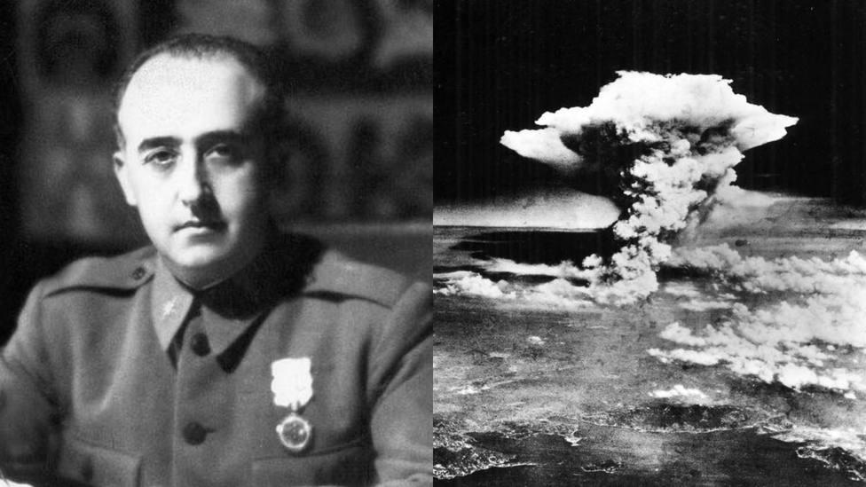 Los fantasmas de Franco tras la hecatombe de la bomba nuclear de Hiroshima