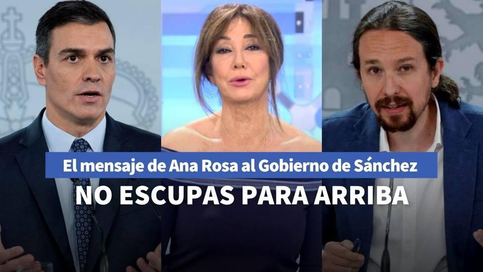 Ana Rosa Quintana y el Gobierno