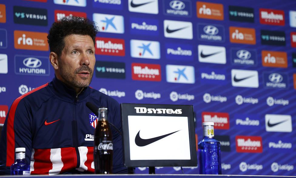 Simeone, sobre su futuro: No hay nada que informar, estoy feliz donde estoy