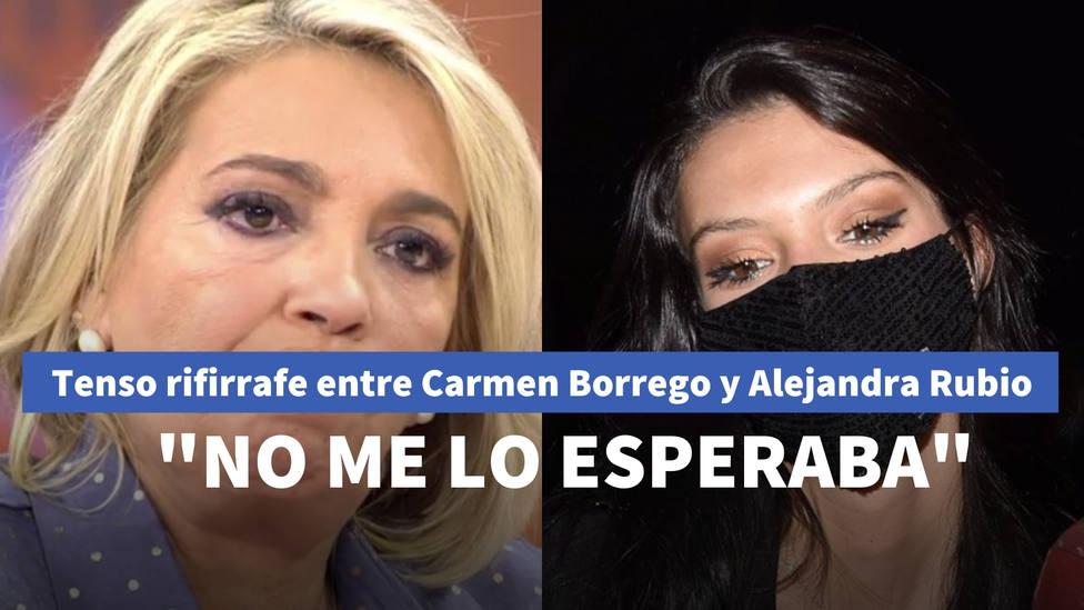 Tenso rifirrafe entre Carmen Borrego y su sobrina en Viva la vida que hunde la relación: No me lo esperaba