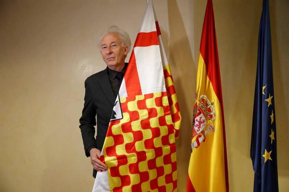 Albert Boadella en su papel de presidente de Tabarnia