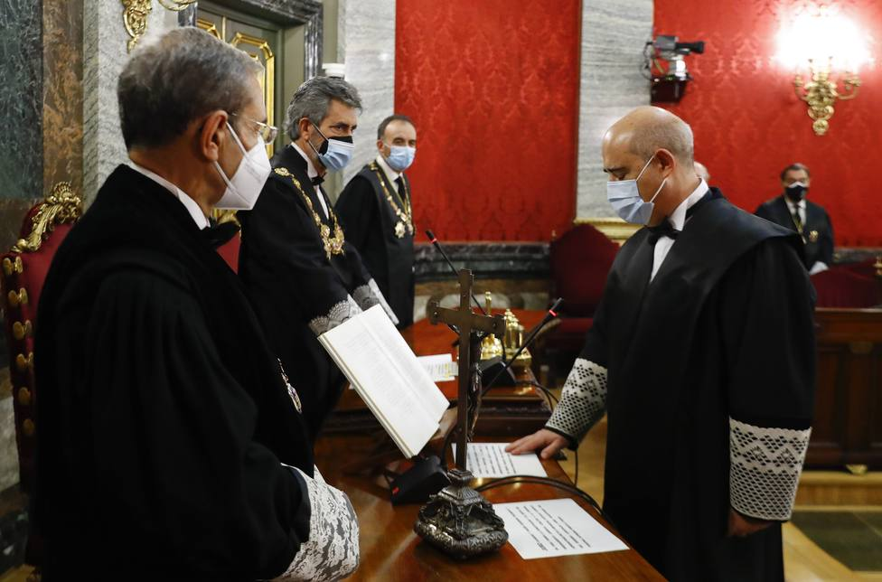 Toma de posesión de los magistrados de la Sala Segunda del Supremo