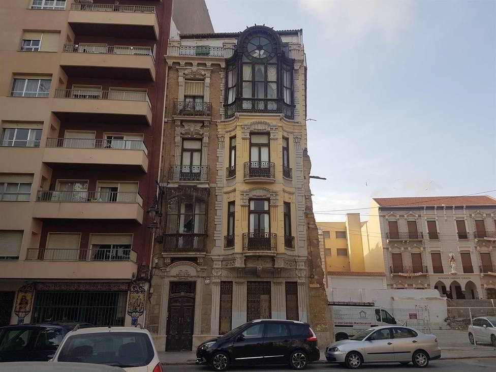 Rehabilitarán la casa centenaria de Celestino Martínez, icono del modernismo en Cartagena
