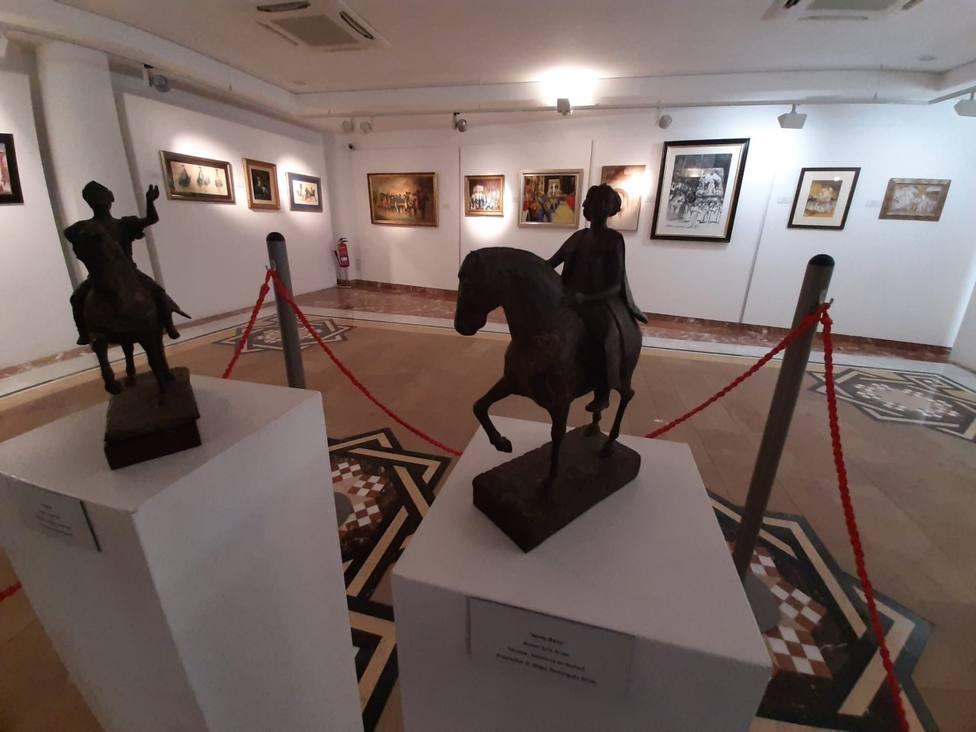 El Fondo Espín acoge una exposición de cuadros de Semana Santa de colecciones privadas