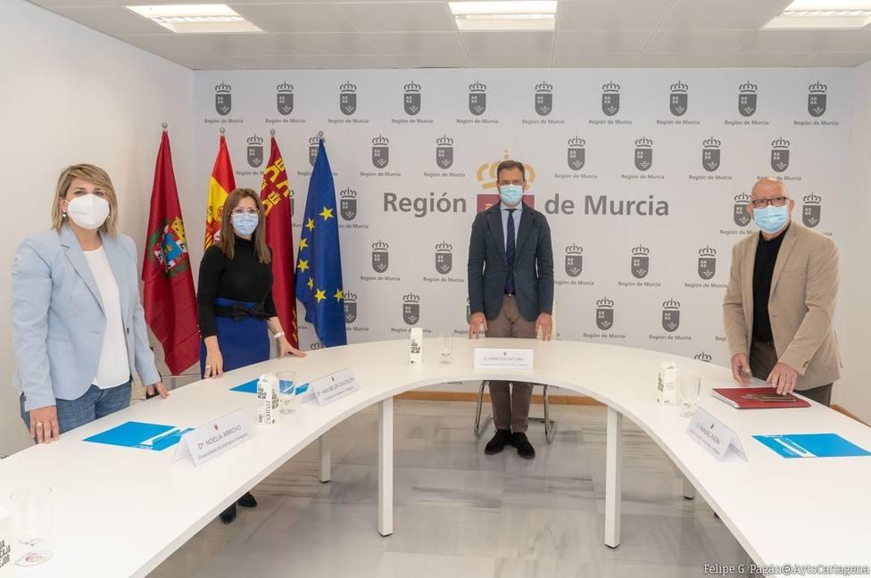 Ortuño confirma que la sede de la Consejería de Turismo seguirá en Cartagena
