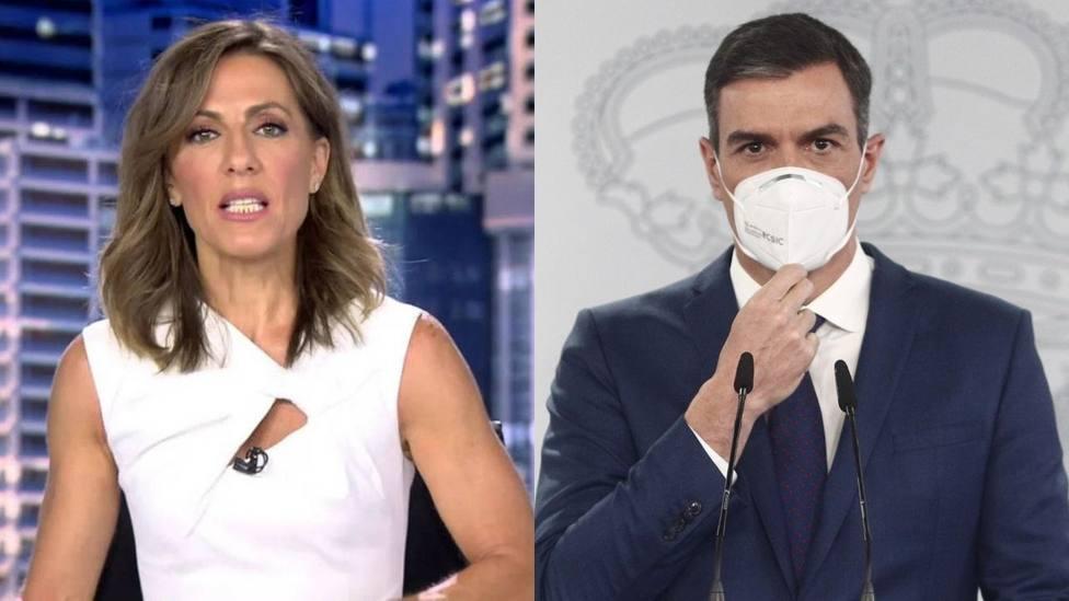 Ángeles Blanco aparece fuera de cámaras para sugerir a Sánchez un cambio en su gestión: Buenos días