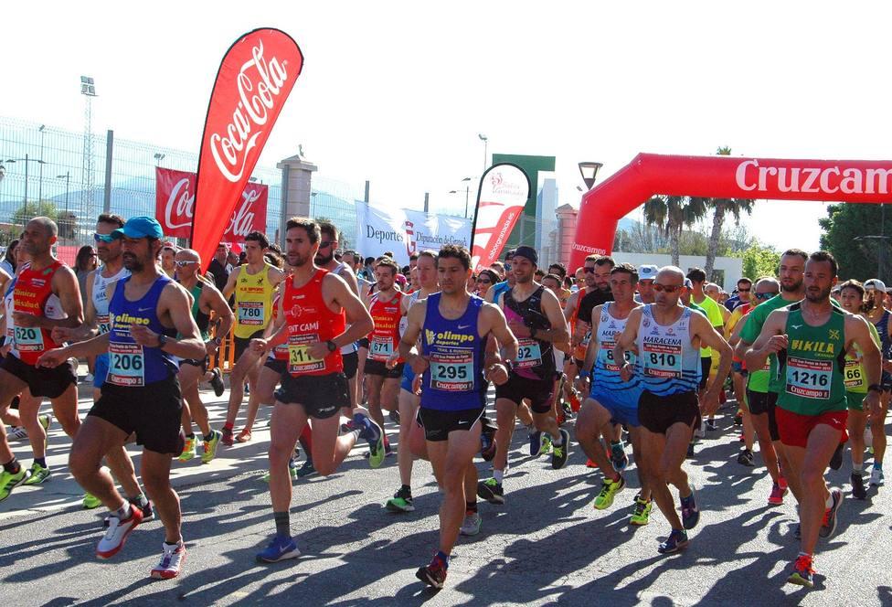 Huétor Tájar, punto de partida del XXXIV Gran Premio de Fondo Diputación de atletismo