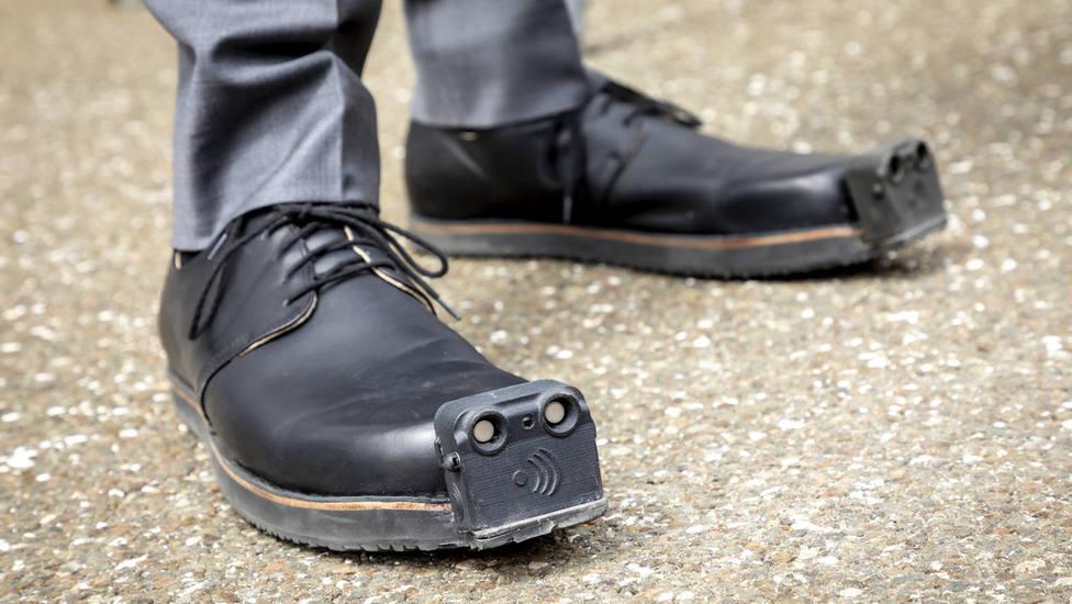 Los revolucionarios zapatos dotados de sensores