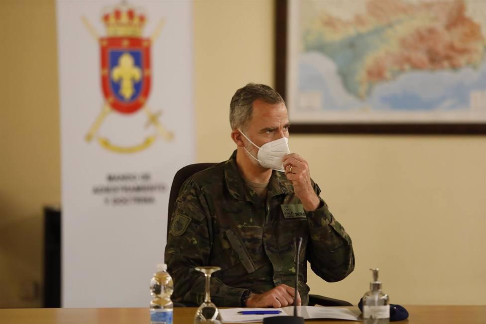 Granada.- El Rey conoce los avances en instrucción e investigación del Mando de Adiestramiento del Ejército de Tierra