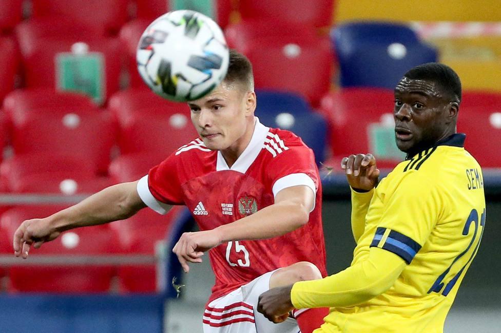 Russia: Football friendlies: Russia vs Sweden