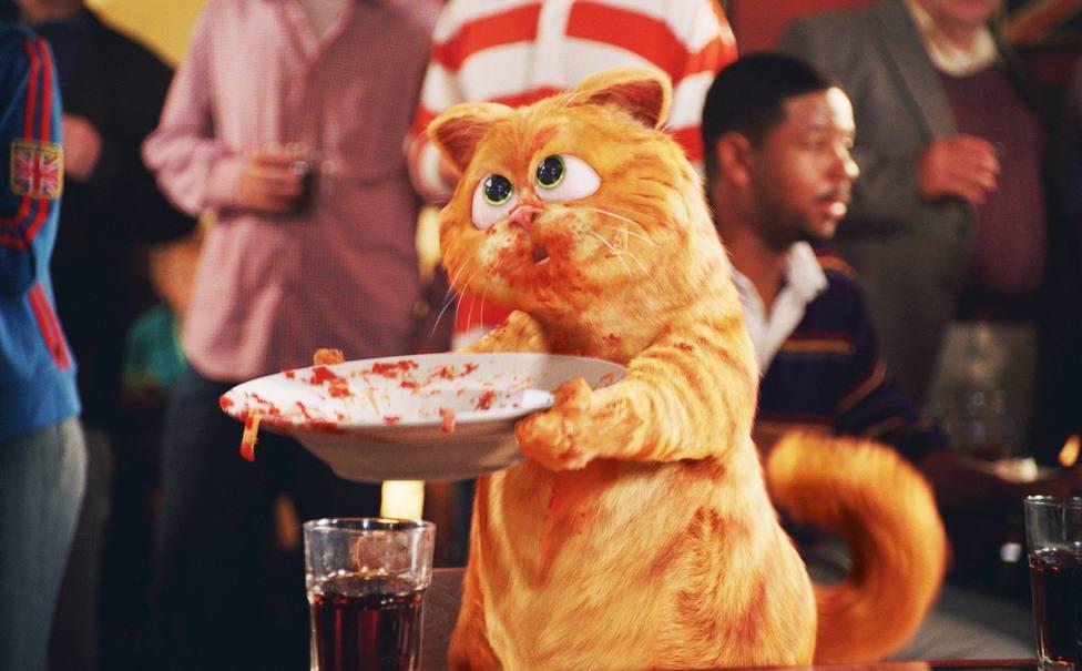 Garfield, el gato amante de la lasaña, que nació en un restaurante italiano