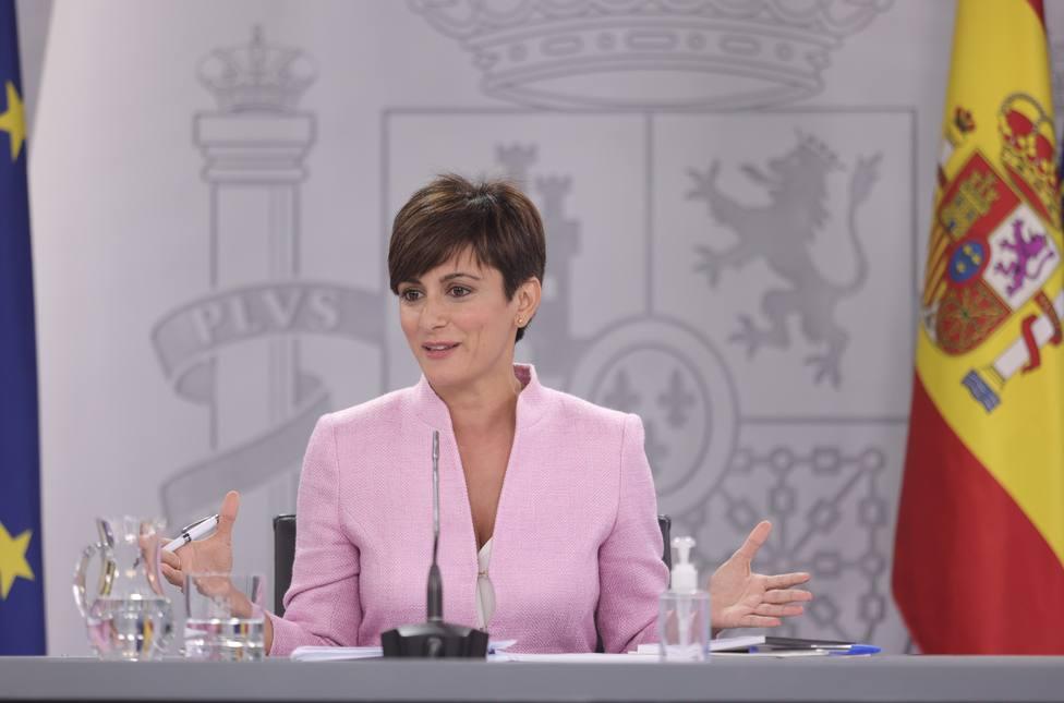 Isabel Rodríguez asegura que la hoja de ruta para Cataluña no ha cambiado