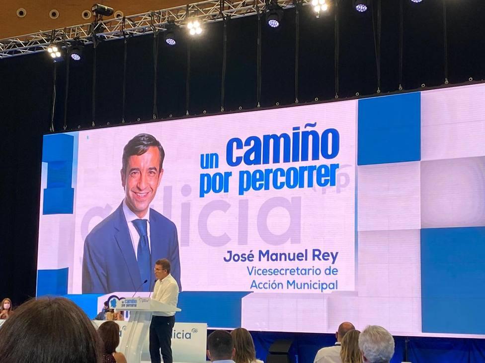 José Manuel Rey Varela ocupará la Vicesecretaría de Acción Municipal del PP. FOTO: PP