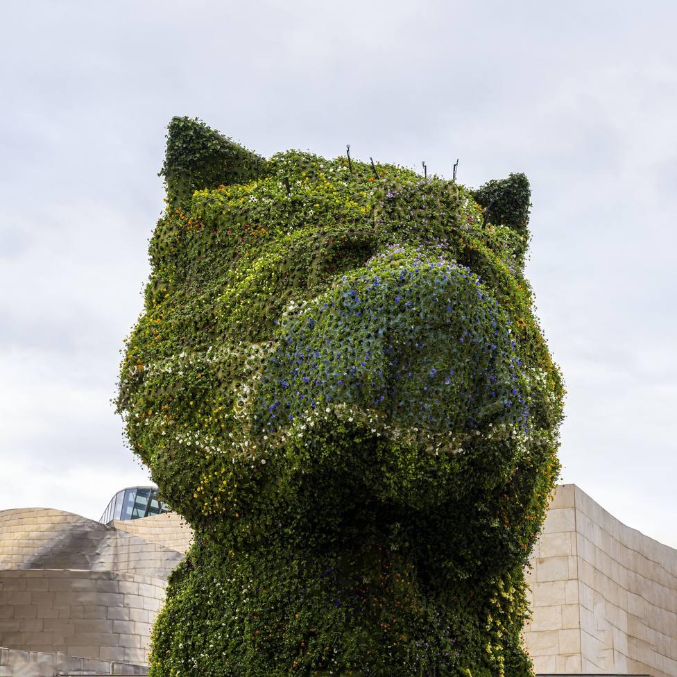 El Puppy del Museo Guggenheim Bilbao