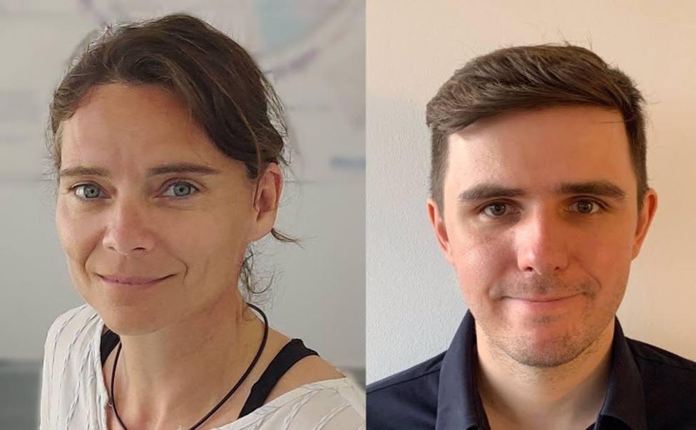 Jana Selent y Tomasz Stepniewski, IMIM