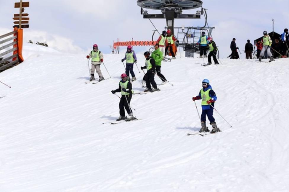 Esquí escolar