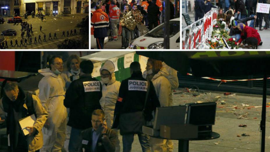 Un español entre las 129 víctimas de los atentados