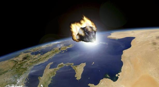 Imagen de archivo del asteroide 2012DA14, que no impactó contra la Tierra
