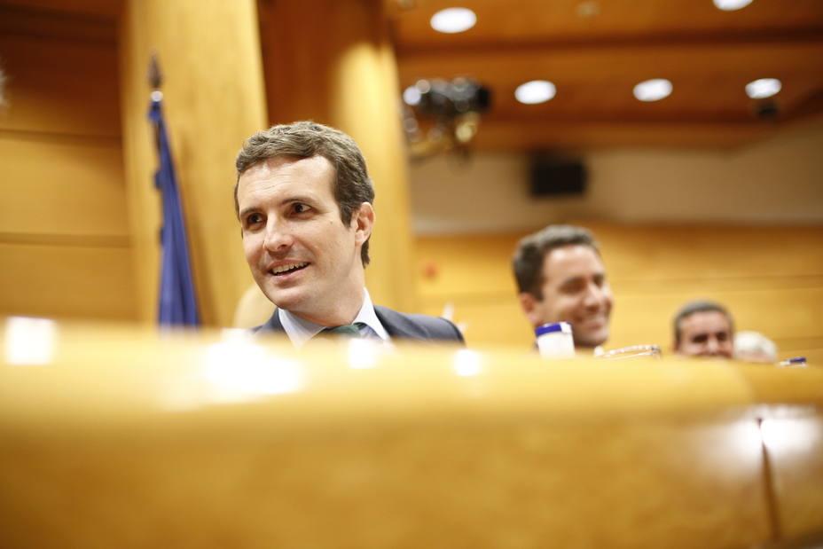 Casado, tras los audios de Cospedal: Tengo plena confianza en Rajoy y no toleraría una práctica no ejemplar