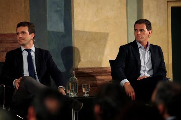 Casado en diálogo sobre el 40 aniversario de la Constitución Española