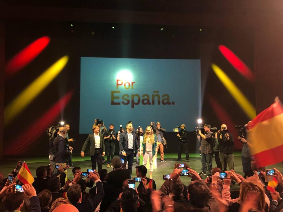 28A.- Santiago Abascal apuesta por aplicar la condena perpetua a los que cometen crímenes contra las mujeres