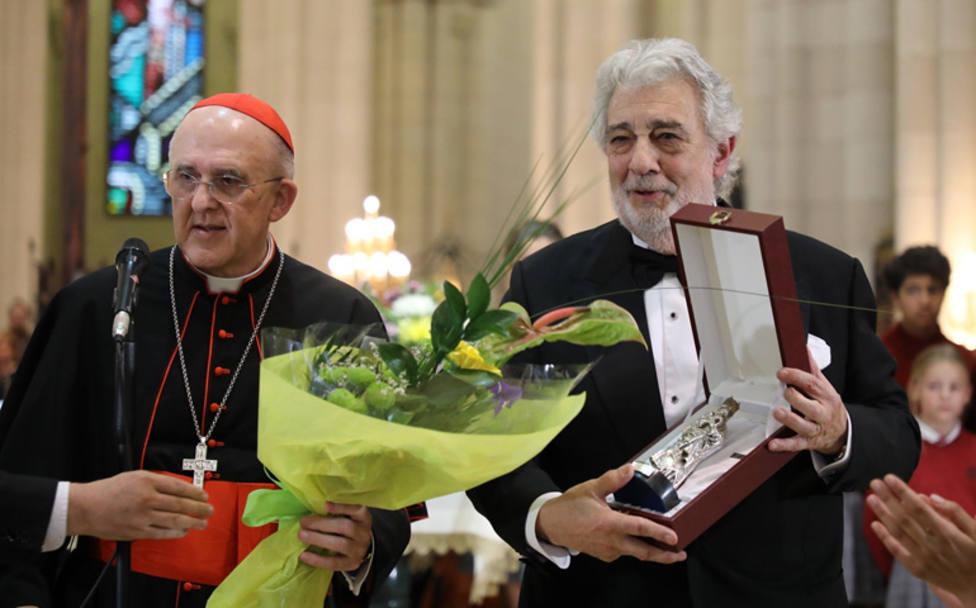 Plácido Domingo dedica un concierto a la Virgen María