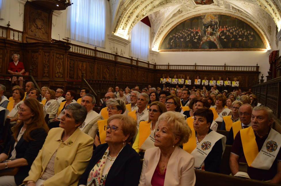 Ceremonia de clausura del curso académico en el Aula Magna de la Universidad Pontificia
