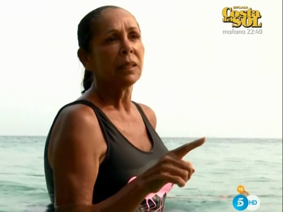 Isabel Pantoja preocupa a sus compañeros por estar dos días sin comer en Supervivientes