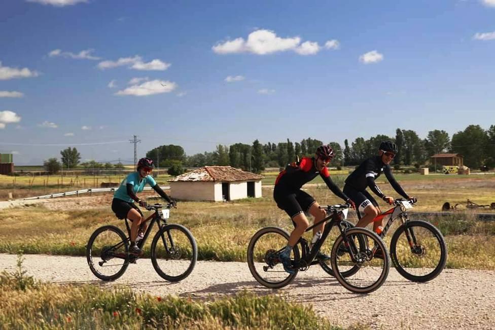 Ciclistas en una de las ediciones de BTT