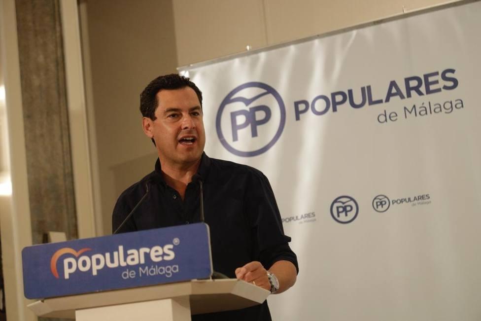 Moreno destaca el gobierno estable de Andalucía frente a la gran incertidumbre de España