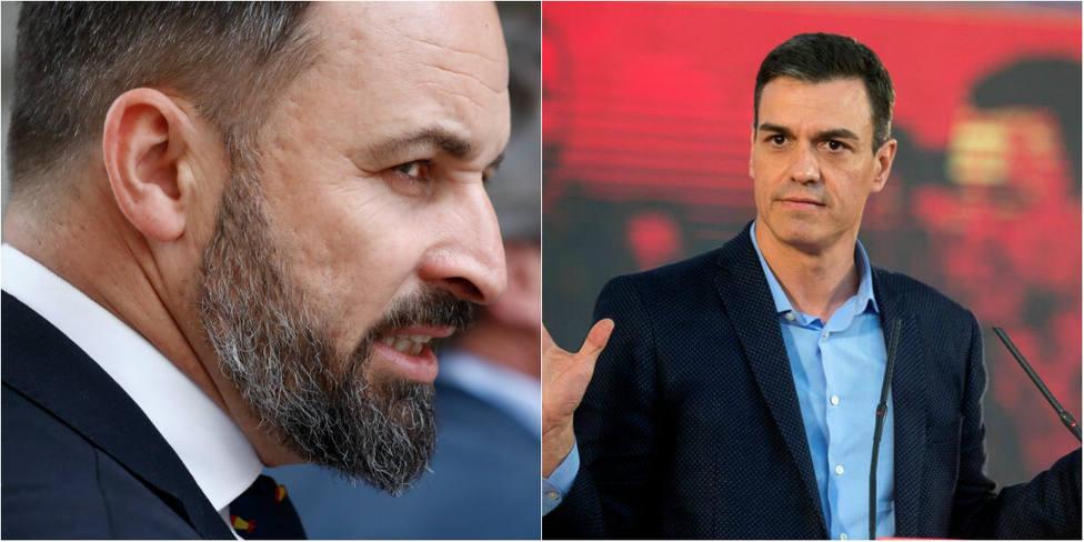 El contundente mensaje de Abascal a Sánchez por su falso teatro