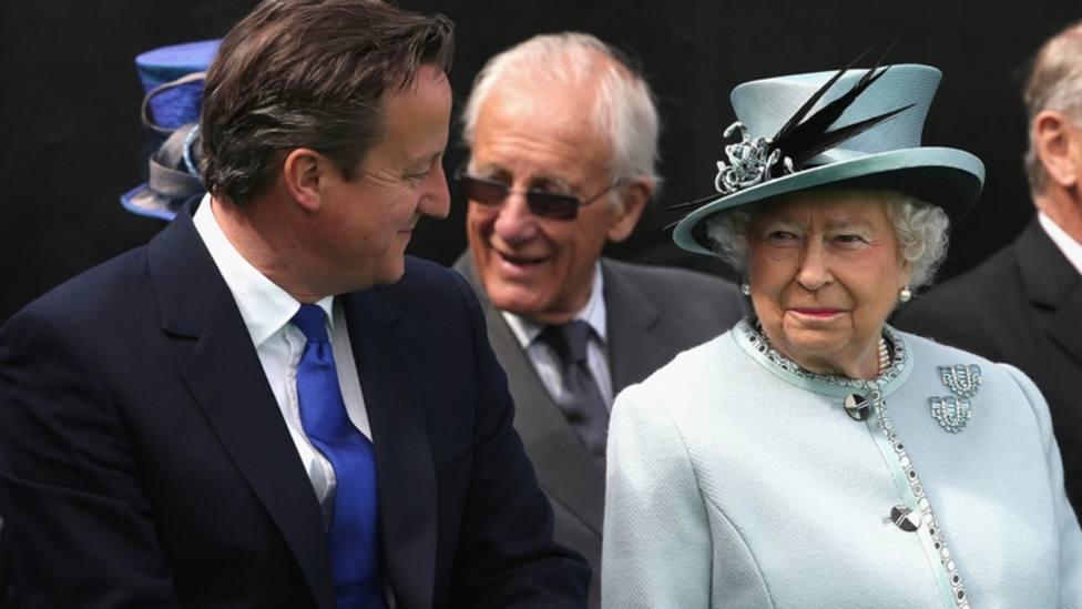Cameron pidió a Isabel II que intercediera contra la independencia de Escocia