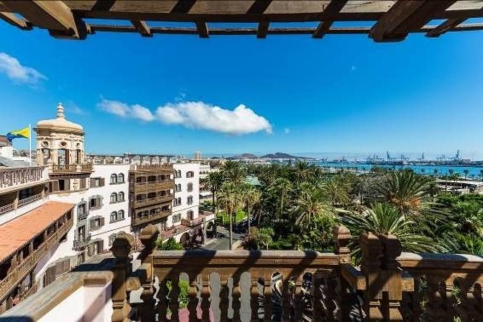 El hotel Santa Catalina
