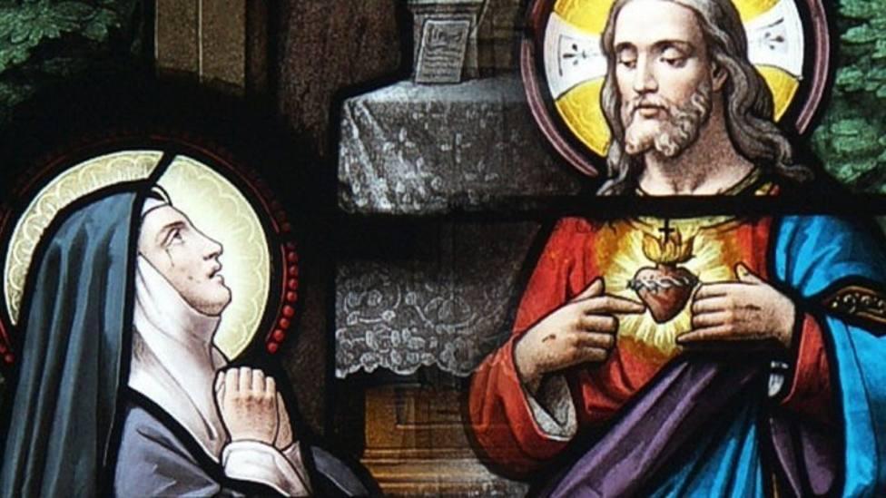 Santa Margarita María de Alacoque: transmisora del amor de Dios a los hombres