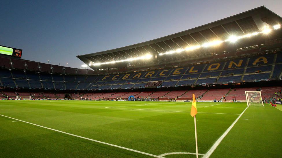 Imagen del Camp Nou. CORDONPRESS