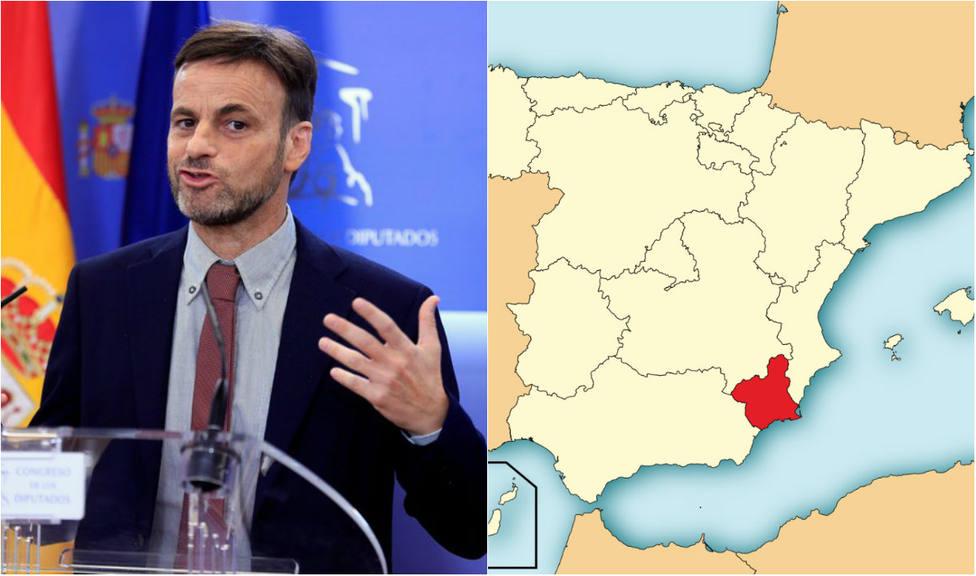 ¿Murcia es parte de la nación de naciones de Sánchez? La insólita respuesta del candidato catalán de Podemos