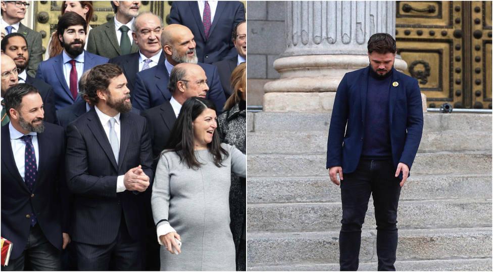La promesa de un diputado de Vox para la nueva legislatura con Rufián como protagonista