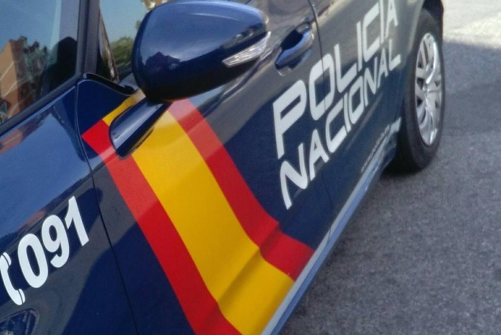 Imagen de un coche patrulla de Policía Nacional.