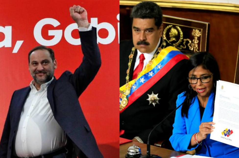 Las rocambolescas contradicciones de Ábalos para negar su reunión con Delcy Rodríguez