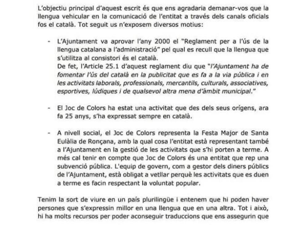 carta ayuntamiento