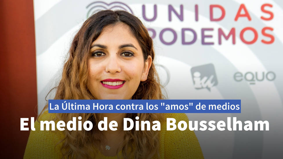 El digital de Dina Bousselham acusa a los medios de pertenecer al poder económico y se le vuelve en contra